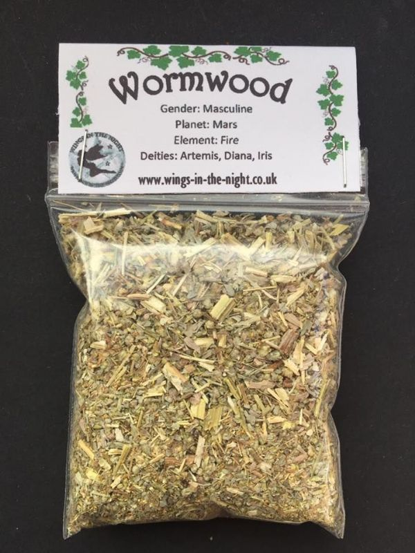 WORMWOOD Dried Magical Herb